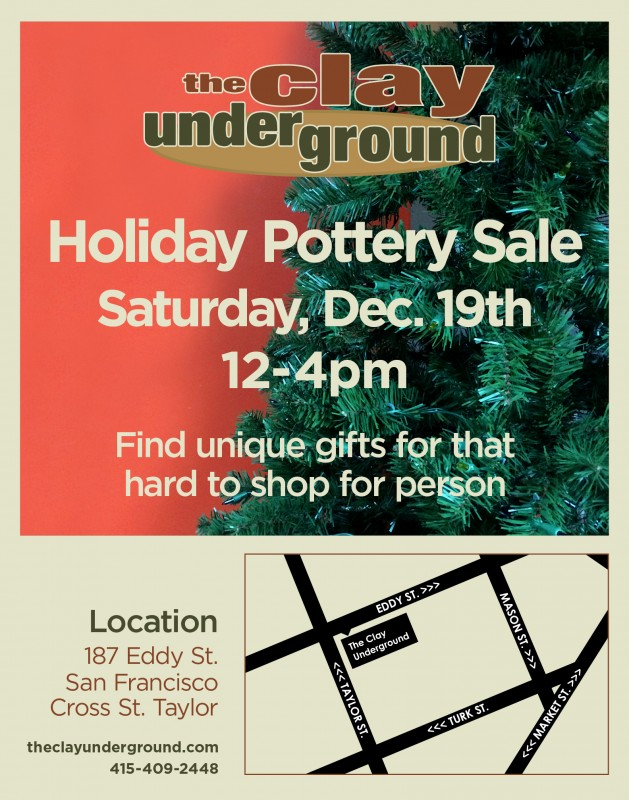 2015 Holiday Pottery Sale