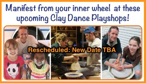 Pottery Playshops at TCU - rescheduled