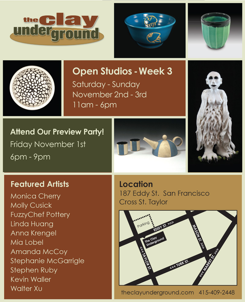 Open studio postcard Nov 2013